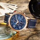 CURREN Men HOT Luxury Fashion Watch Military Leather Quartz Sport Waterproof