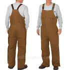 Dickies Bib Overalls Mens Flex Sanded Stretch Duck Insulated Bib Overall TB577
