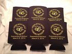 Wedding Koozies Personalized Design 1041 25 to 300 custom can party favors
