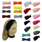 Внешний вид - New Stretchable Turban Twist Yoga Hairband Headband Solid Colors Sports