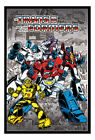 Transformers G1 Retro Comic Framed Cork Pin Notice Board With Pins - Time Remaining: 5 days 9 hours 50 minutes 14 seconds