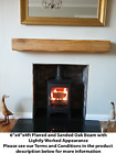 French Oak Beam Floating Shelf Mantle Piece Fireplace Surround Mantel Free Deliv