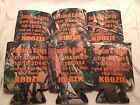 Camo Wedding Koozies Personalized Design 754 lot of 25 to 300 custom can