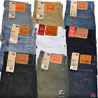 Levis 510 Jeans Skinny Fit Mens Levi's Denim Rinsed Dark Blue Limited Edition
