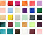 "Внешний вид - Colors Solid Pocket Square Hankie Handkerchief Wedding Formal Prom 10"" x 10"""