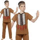 Boys Native American Indian Fancy Dress Costume Age 4-6 7-9 10-12 years Smiffys
