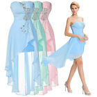 HOT Women Short Bridesmaid Masquerade Formal Gowns Ball Party Evening Prom Dress