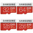Samsung 32GB 64GB 128GB 256GB Evo Evo+ Micro SD Card Mobile Phone TF Memory Card