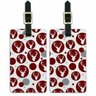 Luggage Suitcase Carry-On ID Tags Set of 2 Hunting Fishing
