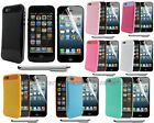 3N1 Hybrid Impact Hard Case Silicone Soft Cover F iPhone 5 5G 5th Free Gift