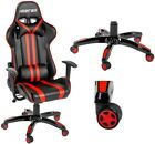 Merax High Back Office Chair PU Leather Racing Gaming Chair Seats Computer Desk