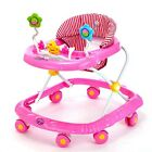 Baby's Walker Toddler Play Tray Toy Musical Activity Learning Walk Assistant