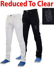 Mens True Face RIO Stretchable Denim Ripped Stretch Jeans Trousers Pants