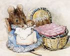 BEATRIX POTTER MOUSE FINE ART PRINT