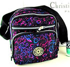B50 Sml Popular Pink Black Purple Printed Punk Rock Casual ladies Fashion Bag