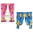 nEw DESPICABLE ME WINDOW CURTAIN PANELS - Minions Drapery Window Treatments