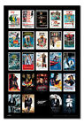 James Bond 007 Movie Posters & Spectre Poster Magnetic Notice Board Inc Magnets £69.95 GBP