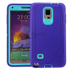 For Samsung Galaxy Note 5 Note 4 Case Rugged Cover &quot;Clip Fit Otterbox Defender&quot;  <br/> 3 LAYER CASE SCREEN PROTECTOR BUILT IN HOLSTER INCLUDED