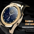 Bluetooth Waterproof Smart Watch Wrist Mate SIM Phone for Android iPhone Samsung
