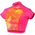 Dolfin Women's Bellas Short-Sleeve Crop-Top Rashguard