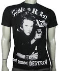 New SEX PISTOLS seditionaries Johnny Rotten HAVE A  ROTTEN XMAS tee  SMALL - 4XL