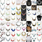 HOT Fashion Women Jewelry Pendant Choker Chunky Statement Chain Bib Necklace