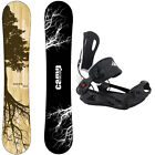Camp Seven Roots CRC with System MTN Rear Entry Bindings Men's Snowboard Package