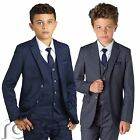 Boys Navy Suit, Boys Grey Suit, Boys Check Suit, Slim Fit Suit, Page Boy Suit