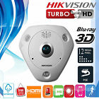 Hikvision 12MP 4000×3072 Fisheye Security Network IP Camera with 360° Vew Angle