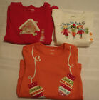 GYMBOREE Size 5 Ivory Carolers Orange Mittens Cozy Cutie Red Shirt Choice