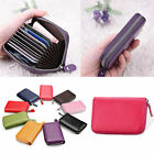 Nice Mens/Womens Leather Mini Wallet ID Credit Card Holder Case Organizer lm