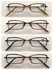 A84 High Quality Reading Glasses/Spring Hinges/Marble Effect Frame Style Design