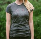 "Women's Gray ""Music Heals"" T-Shirt"