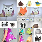 Reusable Foldable ECO Ladies Shopping Bag Animal Tote Handbag Fold AWAY Bag