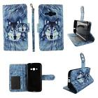 Folio Wallet Case For Samsung Galaxy Express 3 Split Leather Card ID Slots Cover