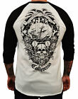 Men's Cormack by Tattoo Artist Cormack California Long Beach Baseball T-Shirt