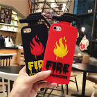 3D New Fire Extinguisher Silicone Soft Cover Case For Apple iPhone 6S 6 7 7Plus