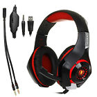 Gaming Game Headset Headphone Earphone with Mic For iPhone PS4/Xbox One/Mac/PC