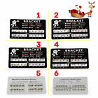 10 packs Dental Orthodontic Bracket Braces Standard/Mini Roth/MBT 3-4-5/3 Hooks