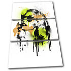 Iggy Azalea Rapper Grunge Urban Musical TREBLE CANVAS WALL ART Picture Print