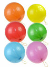 2er-Pack Luftballons Punchballons Party Rund bunt