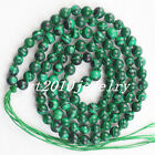 108 Tibet Buddhist 6mm Mixed Stone Beads Tassel Prayer Mala Bracelet Necklace