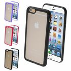 "Color Transparent TPU Gel Gummy Cover Case For iPhone 6 6S 4.7"" Inch"