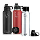 40oz Camping Hiking Travel Water Bottle Fitness Sports Outdoor Stainless Steel