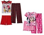 Disney Girl Pajama Set Minnie Mouse Polyester Multi Toddler size 2T 4T NEW