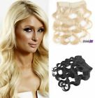 """16""""-24"""" Charming Long Body Wave Secret Halo Human Hair Invisible Wire Extension"""
