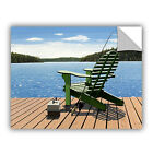 'Fishing Chair' Removable Wall Art Mural