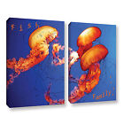 Fish Family' Gallery wrapped Canvas Art Print