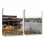 Old Fisherman's Wharf - California' Gallery wrapped Canvas Art Print