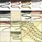 6.56/ 13.12 feet 2/4m Unfinished Cable Chain Necklace Pendant Jewelry Making DIY